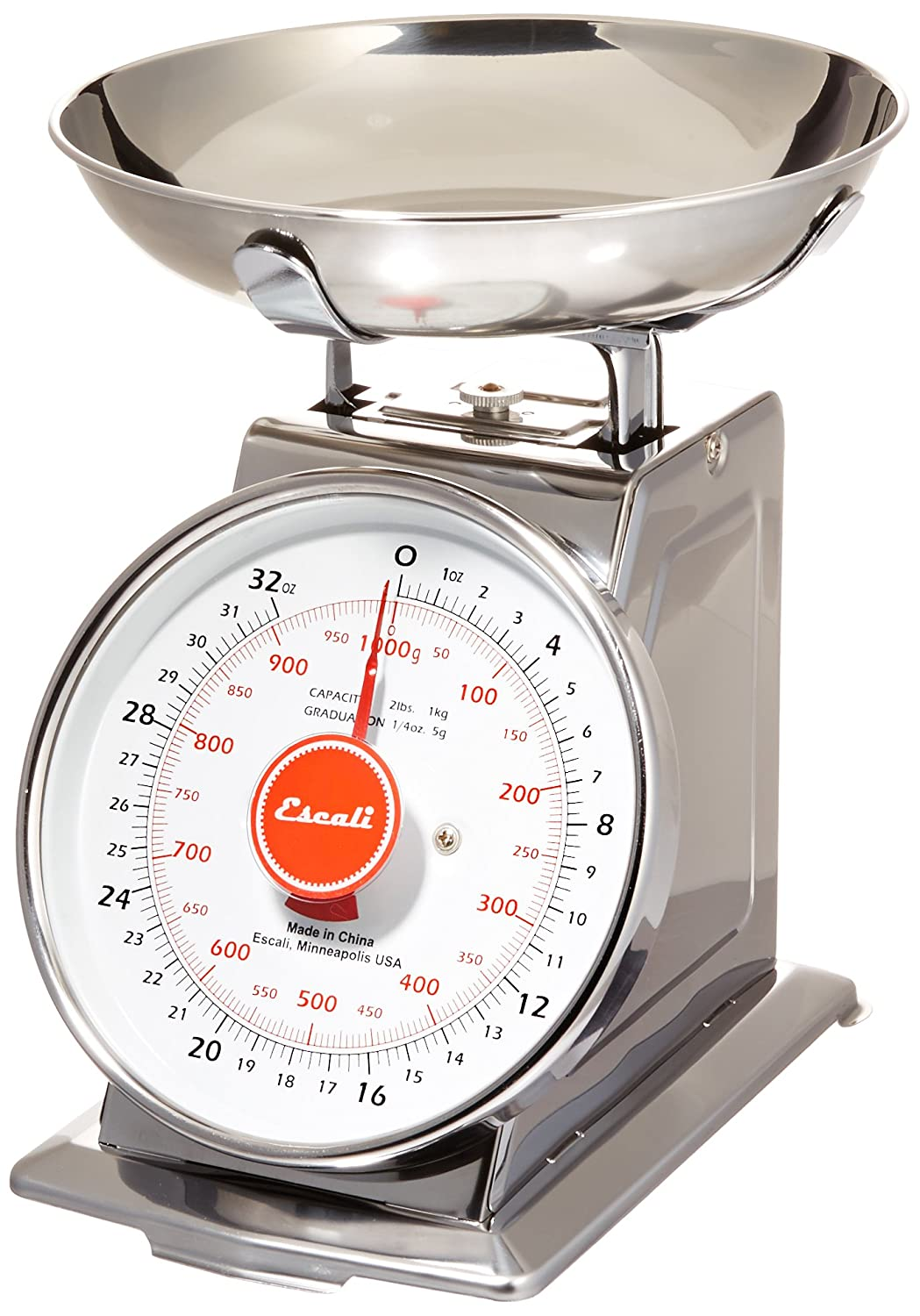 Amazon com  Escali Mercado Classic Design Scale  Stainless Steel   Mechanical Kitchen Scales  Kitchen   Dining. Amazon com  Escali Mercado Classic Design Scale  Stainless Steel