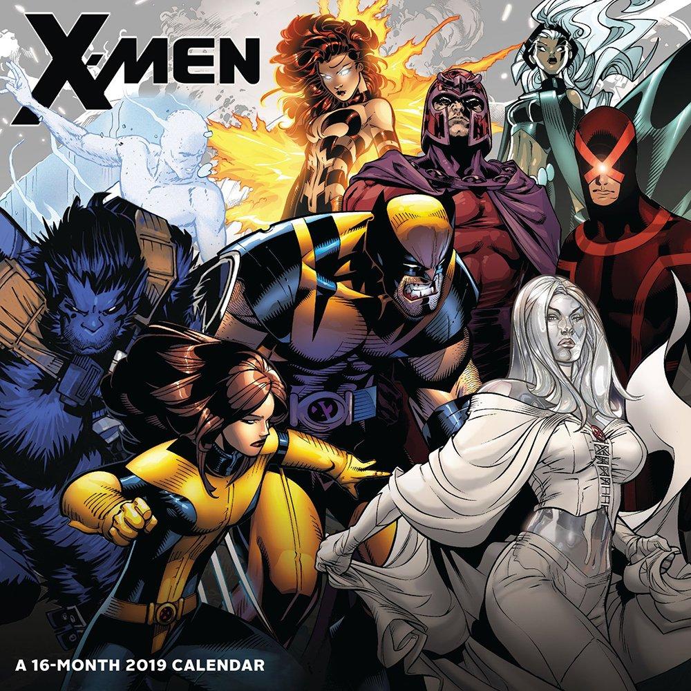 X-Men Wall Calendar (2019) (Englisch) Kalender – 1. Juli 2018 Day Dream 163571351X