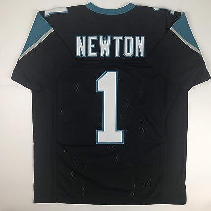 6a0f36c0260 Unsigned Cam Newton Carolina Black Custom Stitched Football Jersey Size  Men's XL New No Brands/