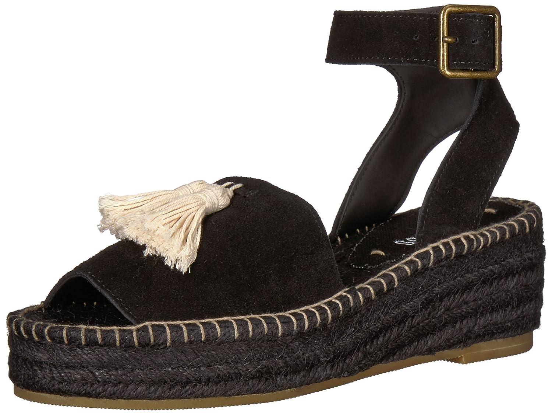 Soludos Women's Peep-Toe Platform (60 mm) Wedge Sandal B072N7XDT2 9 B(M) US|Black
