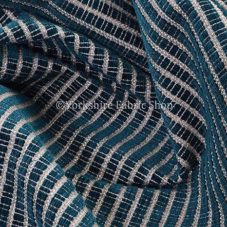 Yorkshire Fabric Shop Cáñamo de Tejido de Textura Chenilla ...