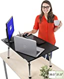 Stand Steady Executive Standing Desk - Large Surface (31.5 in x 22 in) - New Taller Model with Non-skid Feet - Instantly Convert any Surface to a Standing Desk!