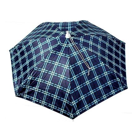 Accesorio de Cabeza del Paraguas Sombrero al Aire Libre Brolly Beach Sun Rain Pesca Caza