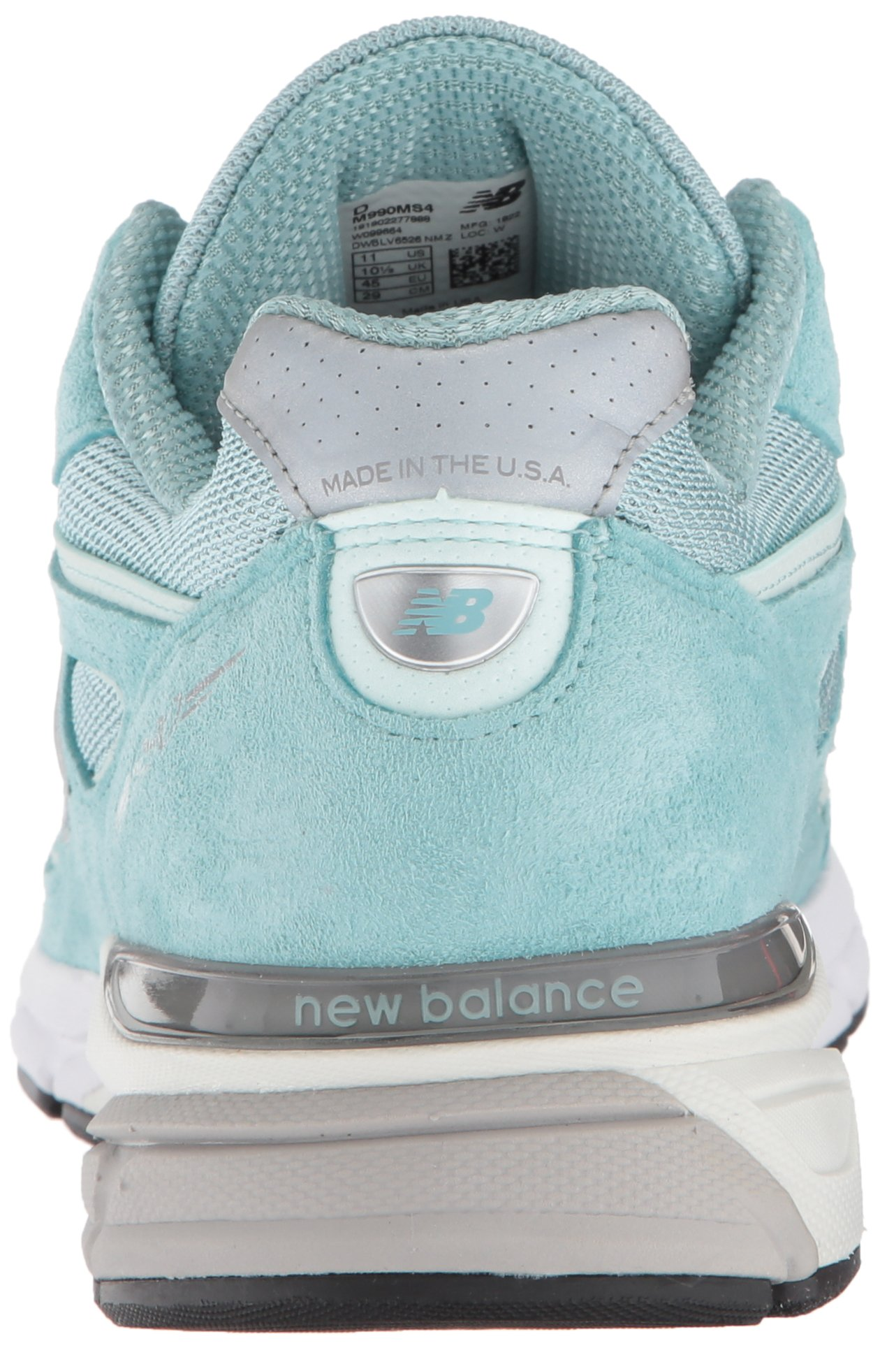 New Balance Men's 990v4, Green/White, 7 D US by New Balance (Image #2)