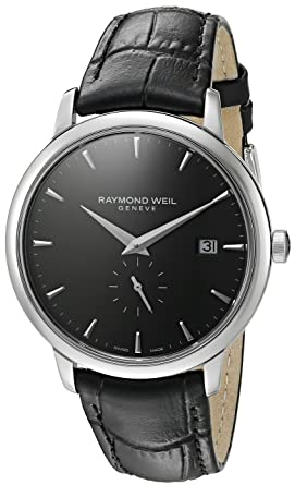 20001 Quartz Weil Steel Raymond Men's blackmodel5484 'toccata' Casual WatchColor Stainless Stc nk0OP8NwX