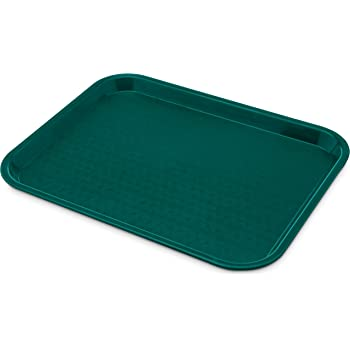 Carlisle CT101415 Cafe Standard Plastic Cafeteria/Fast Food Tray ...
