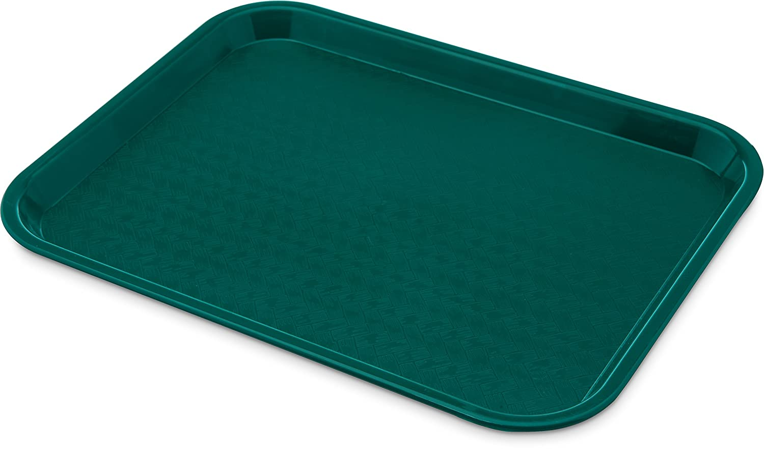 Carlisle CT101415 Café Standard Cafeteria/Fast Food Tray, 10 x 14, Teal 10 x 14 food service warehouse