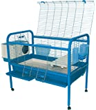 Marchioro Luna 102 Cage for Small Animals with Wheels, 40.25, Blue