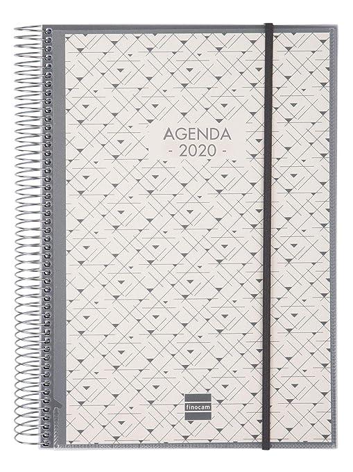 Amazon.com : Finocam - Agenda 2020 1 Day Spiral Page ...