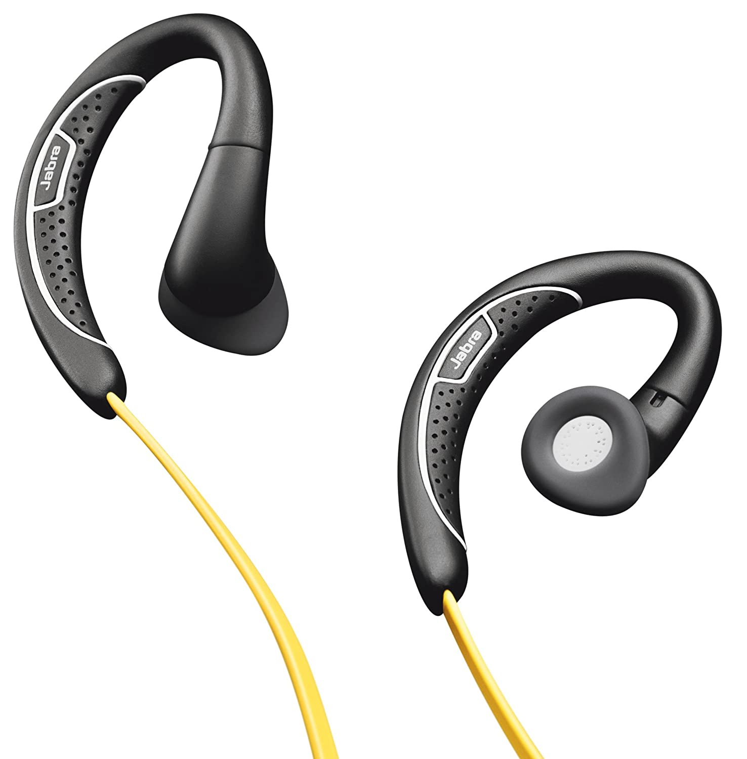 Jabra Sport Corded Sports Headset Retail Packaging Pace Wireless Earbuds Yellow Black Discontinued By Manufacturer Cell Phones Accessories