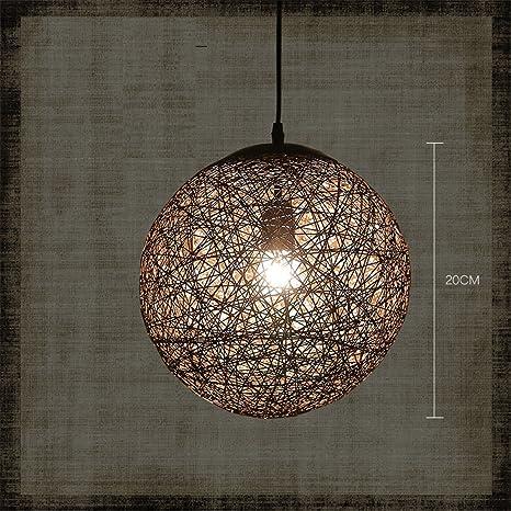 SADASD Retro Lámpara de araña para interior Iluminación ...