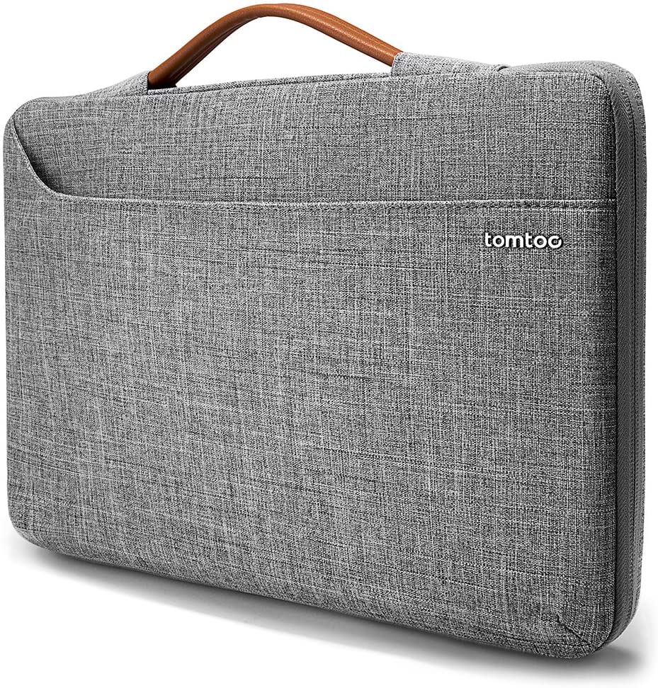 tomtoc 360 Protective Laptop Sleeve for Microsoft Surface Pro X/7/6/5/4/3, Huawei MateBook X Pro, Spill-Resistant Laptop Bag Briefcase fit Dell XPS 13, Thinkpad X280 X270 X260 X250 X240