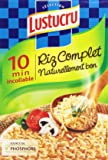 Lustucru Riz Complet 10 Min Incollable 450 g - Lot de 6