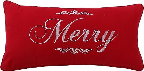Levtex Noelle Merry Pillow