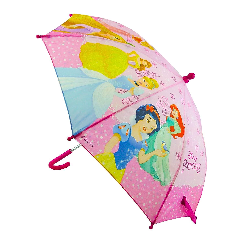 Chanos Princess Safety Runner Polyester Taslon Folding Umbrella, 37 cm, Pink Chanos_34862