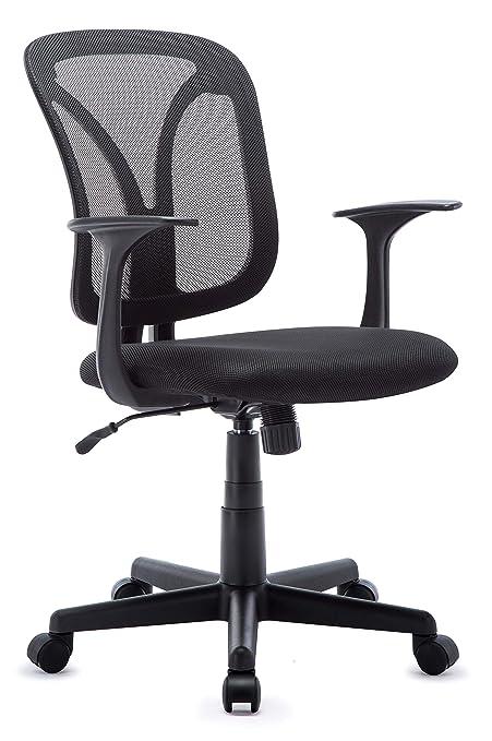 Intimate Wm Heart Ergonomic Fabric Mesh Office Chair Medium Back