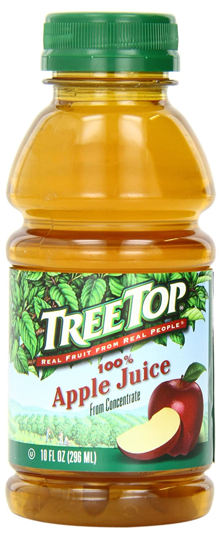 Tree Top Apple Juice, 10 Fl Oz (Pack of 24)