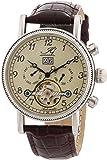 Ingraham Herren-Armbanduhr XL Seville Analog Automatik Leder IG SEVI.1.200102
