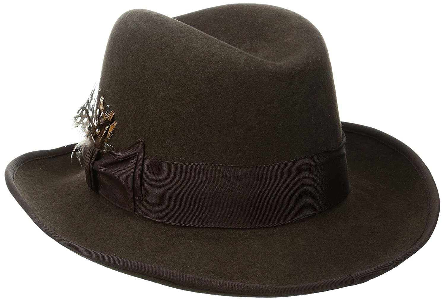 5e73d359464bf Stacy Adams Men s Homburg at Amazon Men s Clothing store  Homburg Hat