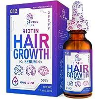 Hair Growth Serum, Hair Growth Treatment,Hair Serum, Hair Loss & Hair Thinning Treatment, Hair Growth Oil Biotin for…