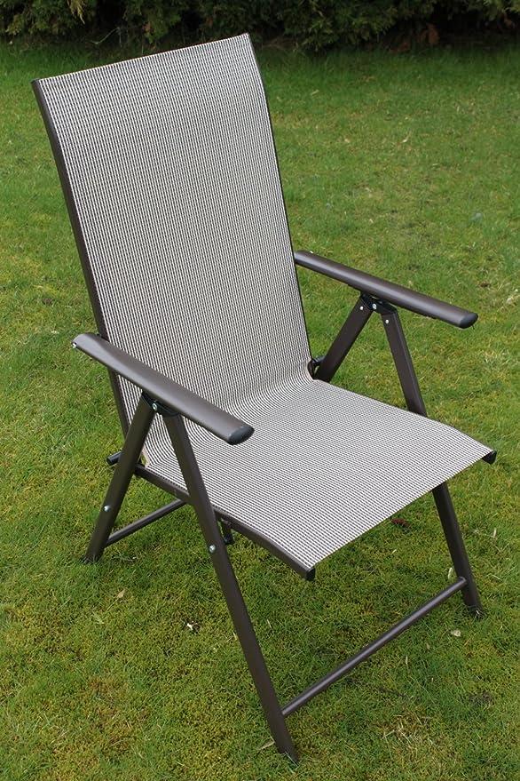 Henley- Juego de mesa y sillas de jardín para 4 personas, incluye 4 sillas plegables y una mesa plegable con superficie de cristal. : Amazon.es: Jardín
