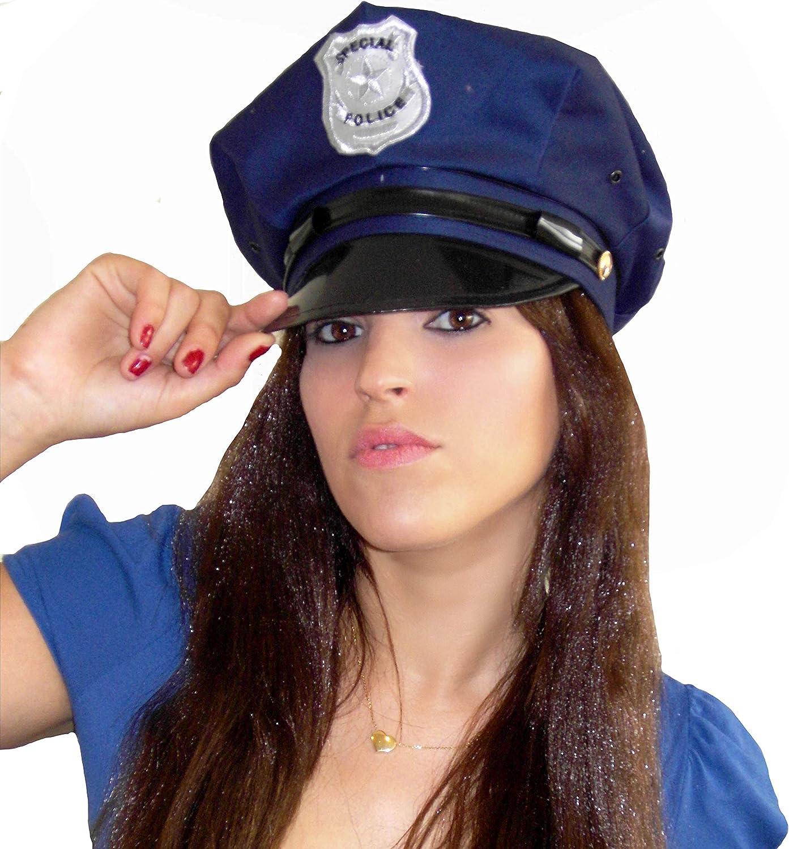EL CARNAVAL Gorra o Sombrero policia: Amazon.es: Productos para mascotas