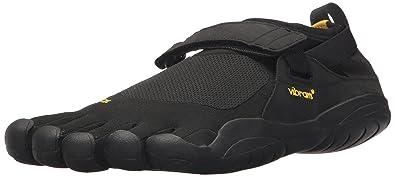 7aa97fb44c21 Vibram Men's Five Fingers, KSO EVO Cross Training Shoe Black Black 4.5 M