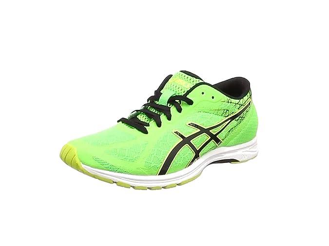 Asics - Zapatillas de Running de Tela, sintético para Hombre Verde Verde, Color Verde, Talla 50.5 EU: Amazon.es: Zapatos y complementos