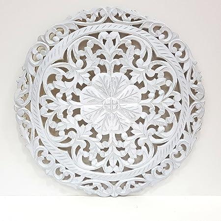 Mandala de Pared, Fabricada artesanalmente en España- Tamaño 60x60 ...