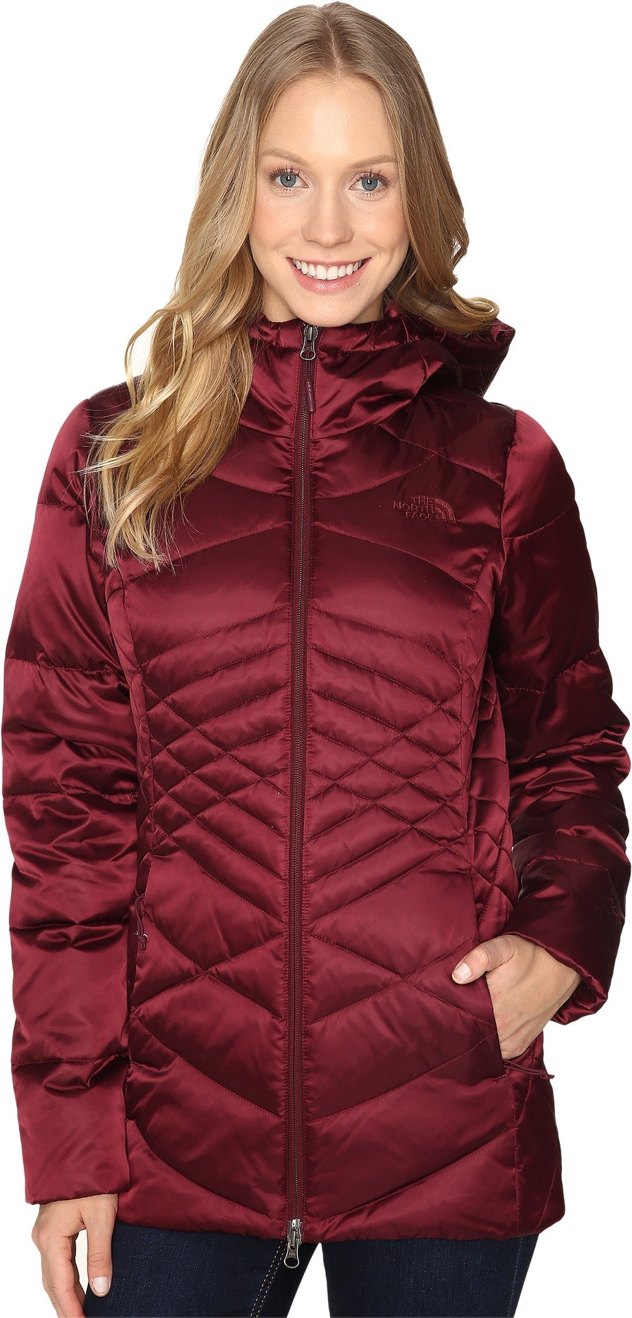 The North Face Women's Aconcagua Parka Deep Garnet Red (Prior Season) Large