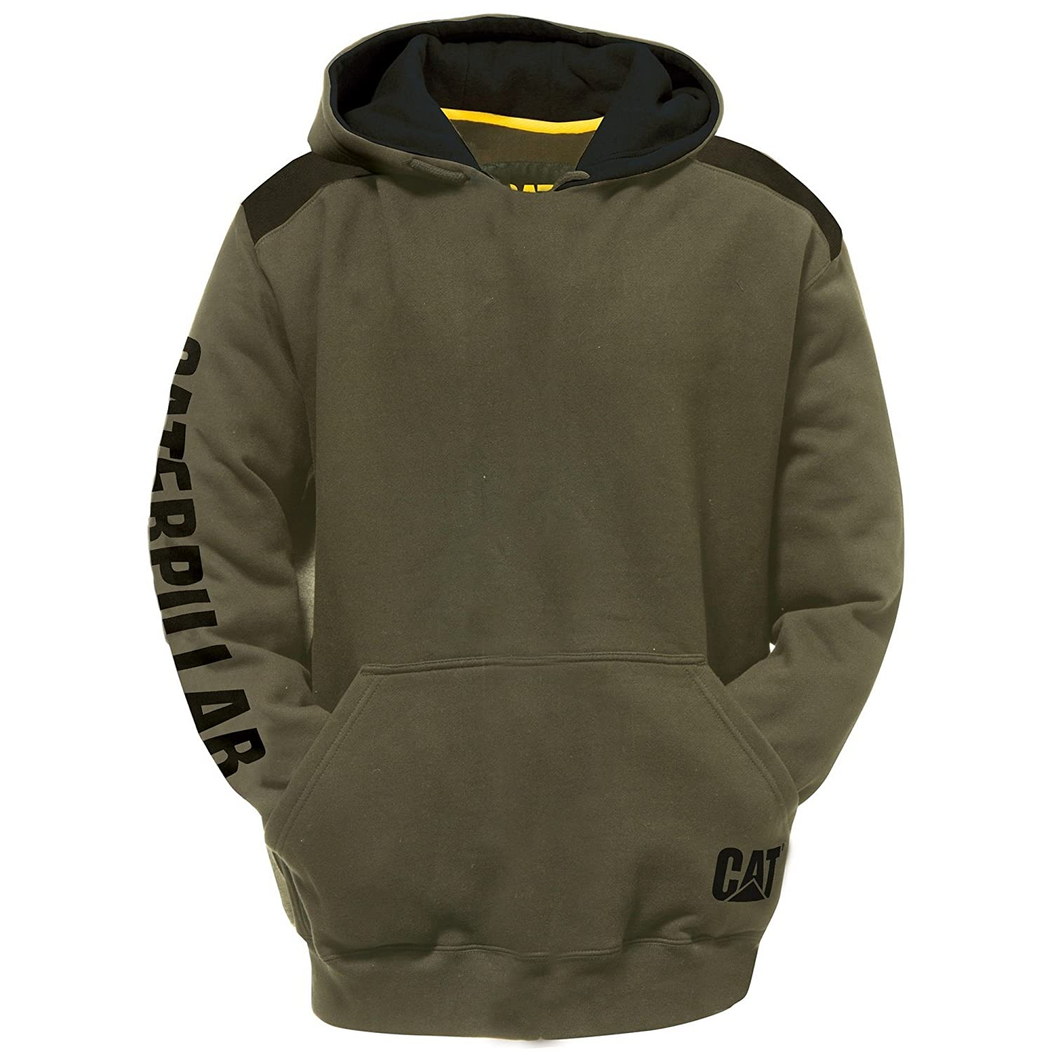 Army Moss 3XL - Chest 54 - 57\ Caterpillar C1910802 - Sweatshirt à capuche et logo - Homme