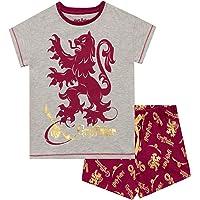 HARRY POTTER Pijamas de Manga Corta para Niñas Gryffindor
