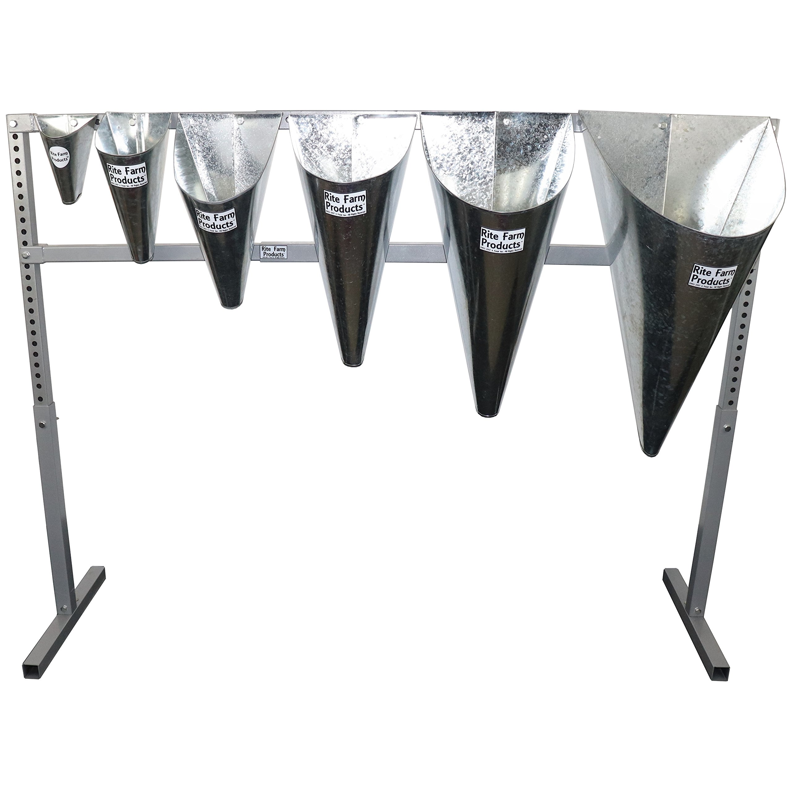 RITE FARM PRODUCTS PROCESSING CONE STAND CHICKEN TURKEY RESTRAINING KILLING KILL by Rite Farm Products