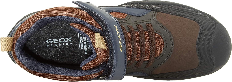 Meditativo Barra oblicua Sensación  Geox Boys' J New Savage B ABX a Hi-Top Trainers Shoes Boys' Shoes
