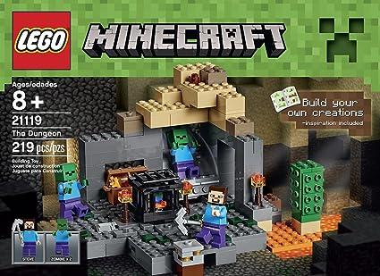 Amazon.com: Minecraft juguetes de construcción LEGO 219 Pcs ...