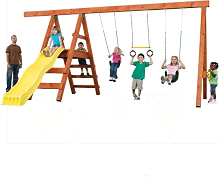 Baby Toddler plein Seau Swing Siège Jardin Playground Heavy Duty Fun Swinging
