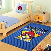 Merinos Halı Angry-Birds-GENIUS Makine Halısı, Renkli, 133 cm x 190 cm