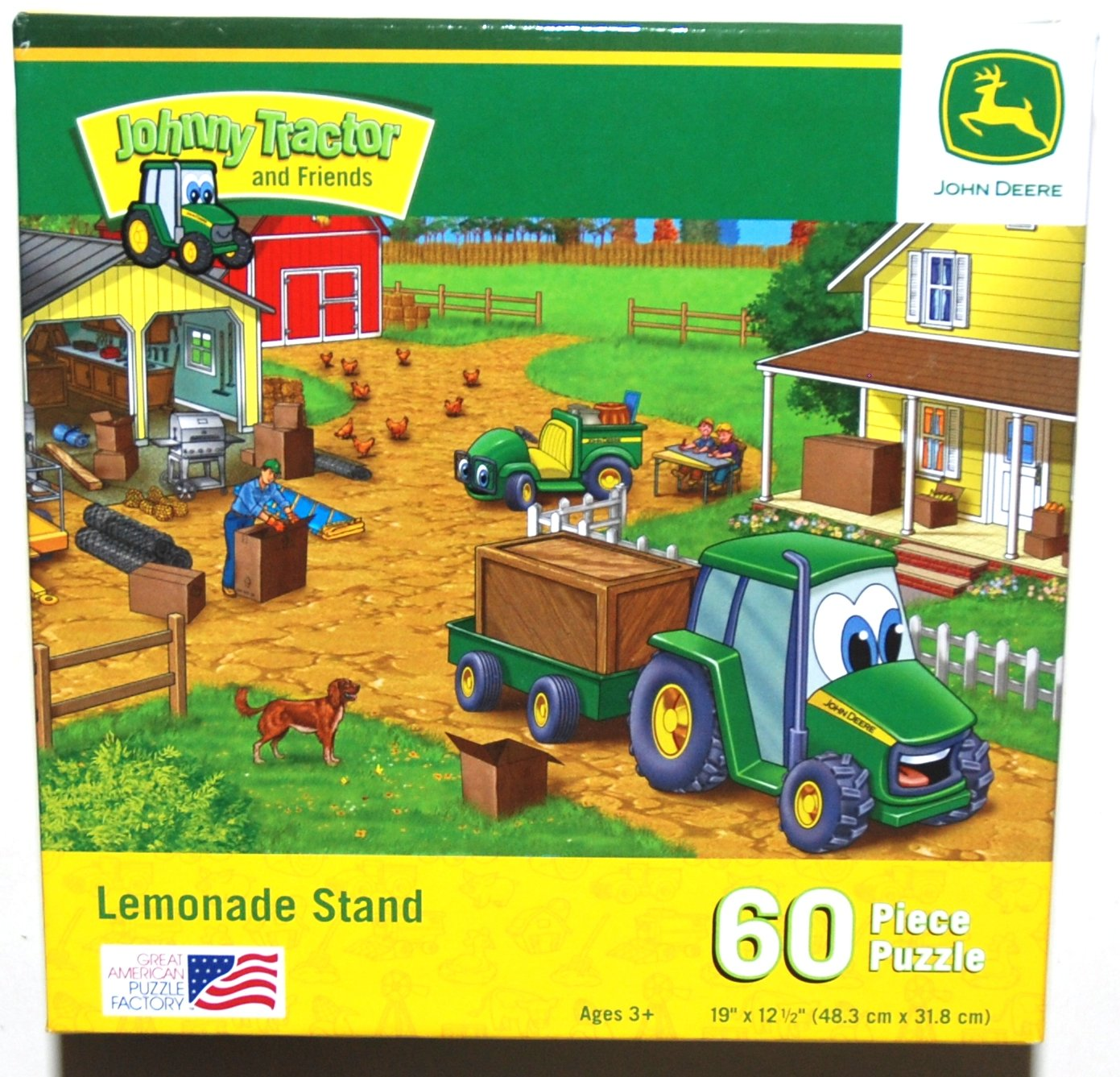 John Deere Jr. Lemonade Stand 60pc Jigsaw Puzzle