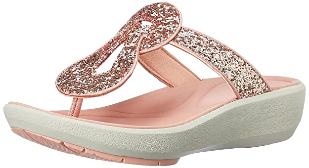 Clarks Women's Wave Glitz Fashion Sandals Fashion Sandals at amazon