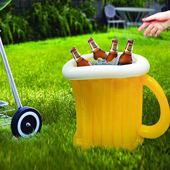 Amazon.com: Jumbo Jarra de cerveza hinchable Cooler: Kitchen ...