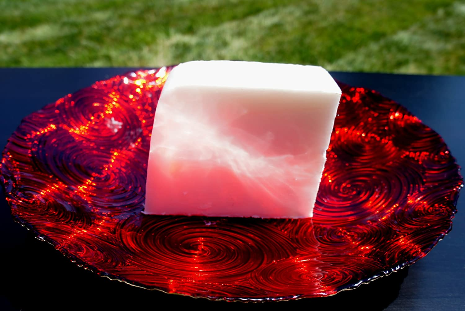 Organic Glycerin Melt & Pour Soap Base with Shea Butter 100% Pure 2 LB H&B Oils Center Co.