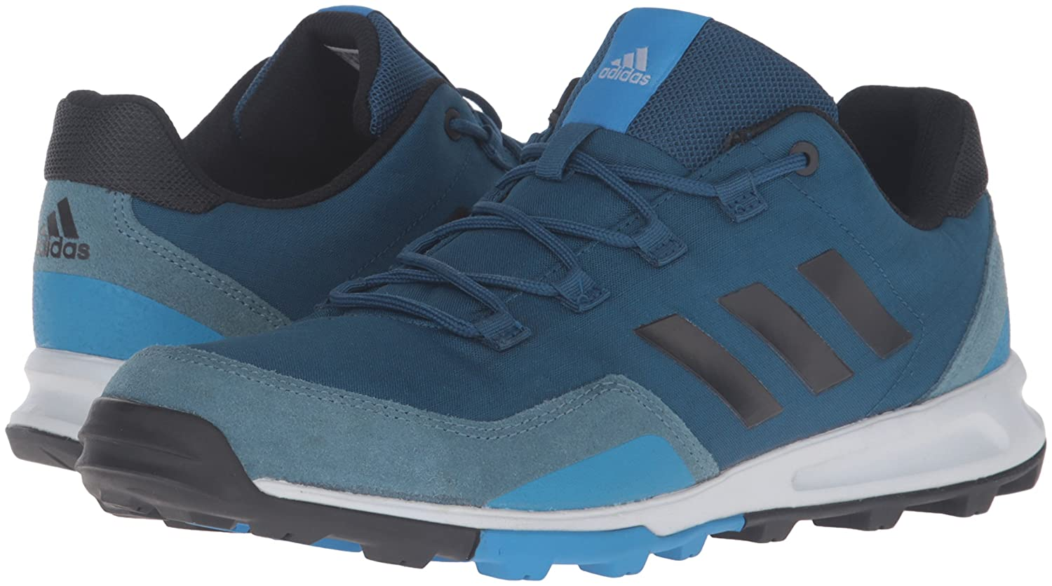 Explosion Models Mens Sneakers Adidas Tivid Mid Low Black Clear Grey Shock Blue