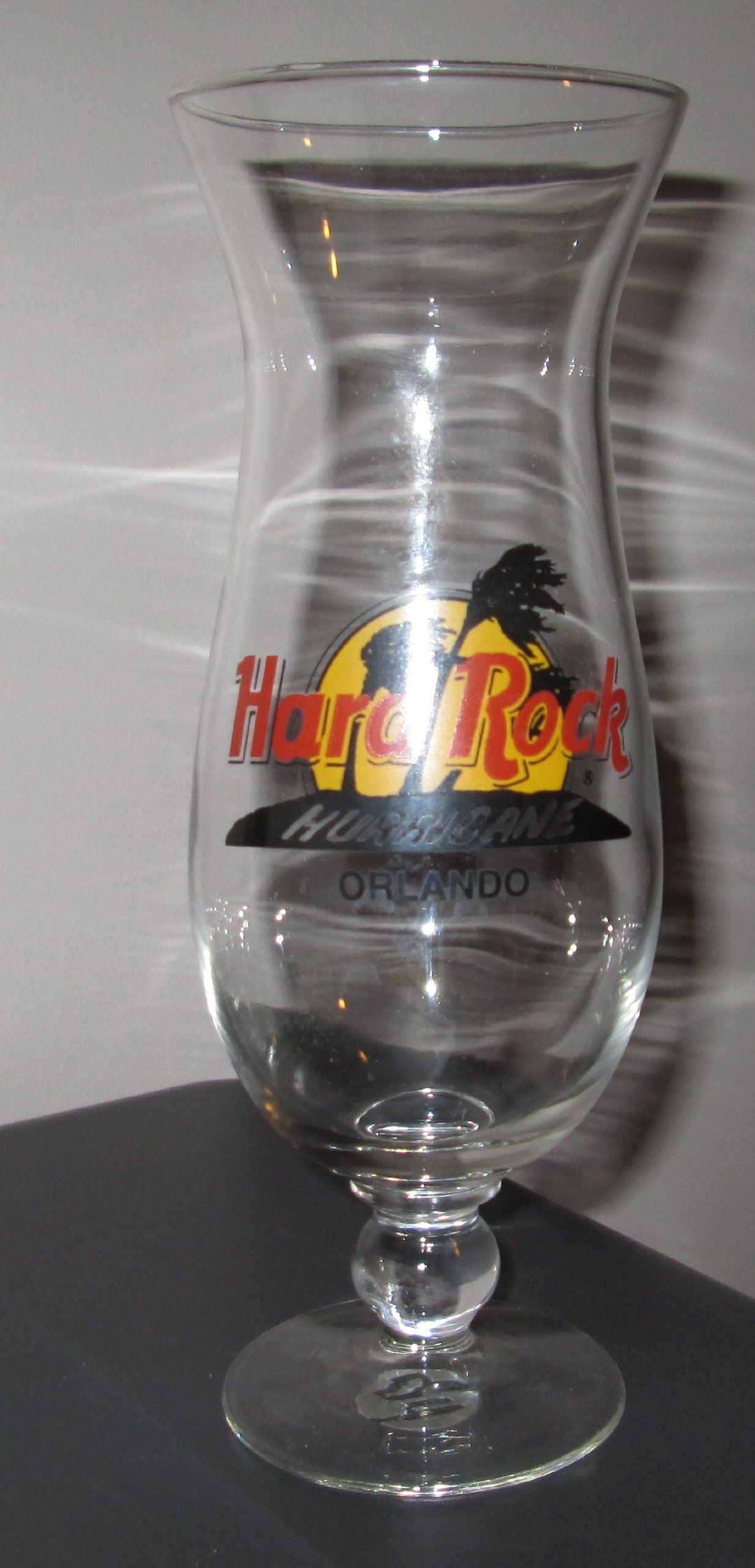 Hard Rock Hurricane Orlando Glass
