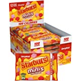 STARBURST Minis 100 Calories Original Fruit Chew Candy .95-Ounce Bag (Pack of 12)
