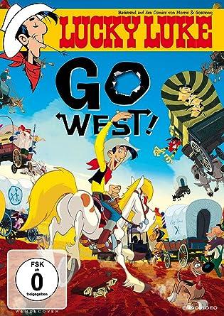 Amazon Com Lucky Luke Go West Import Allemand Movies Tv