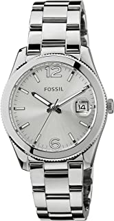 Fossil Womens ES3585 Perfect Boyfriend Silver-Tone Stainless Steel Watch