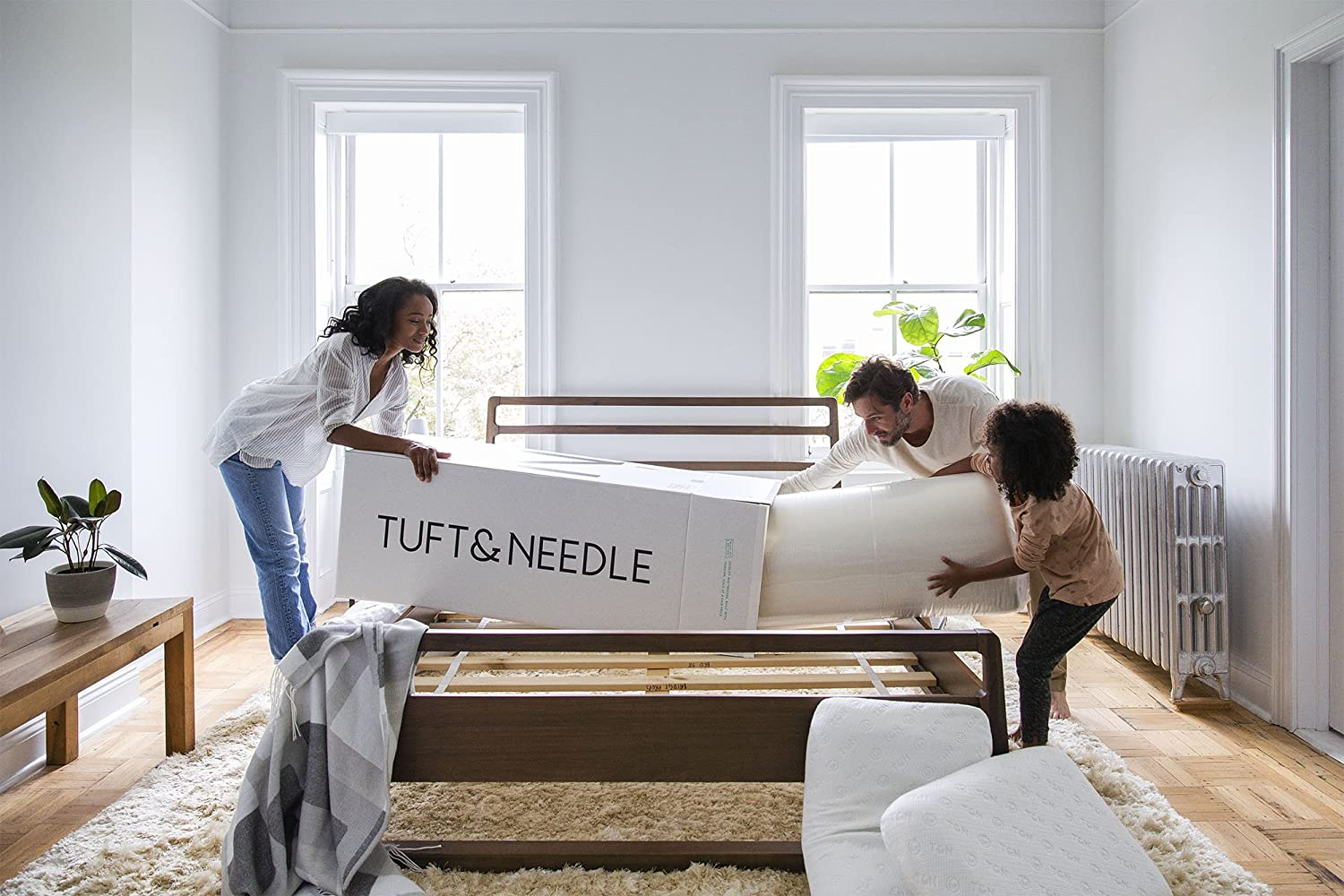 Tuft & Needle Mattress, Queen Mattress with T&N Adaptive Foam,