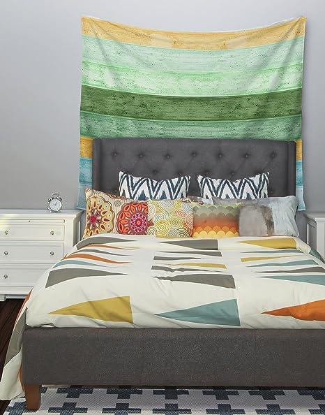 51 X 60 Kess InHouse Monika Strigel Mint Trees Wall Tapestry
