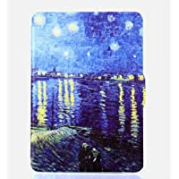 Capa para Kindle Paperwhite - Estampada - Fecho magnético (Van Gogh Rodano)
