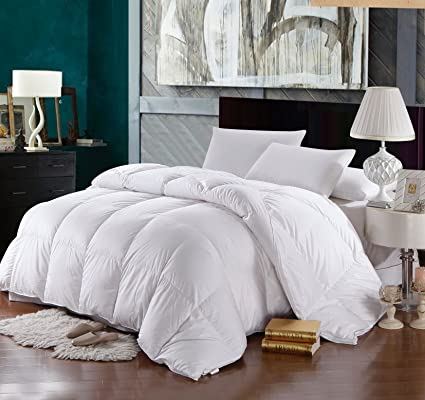 Attractive Twin/Twin XL Size Down Comforter 500 Thread Count Down Comforter